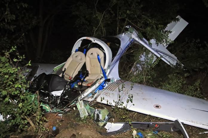1 278 - ΤΡΑΓΩΔΙΑ με την πτώση αεροσκάφους στη Λάρισα- Εικόνες του αεροσκάφους