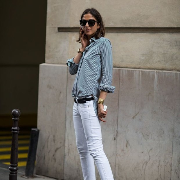 24a422aae019975dbc8285e1f51da5f1 french chic french style - Denim Stories: Δύο τρόποι για να φορέσεις το skinny jean με τον πιο stylish τρόπο