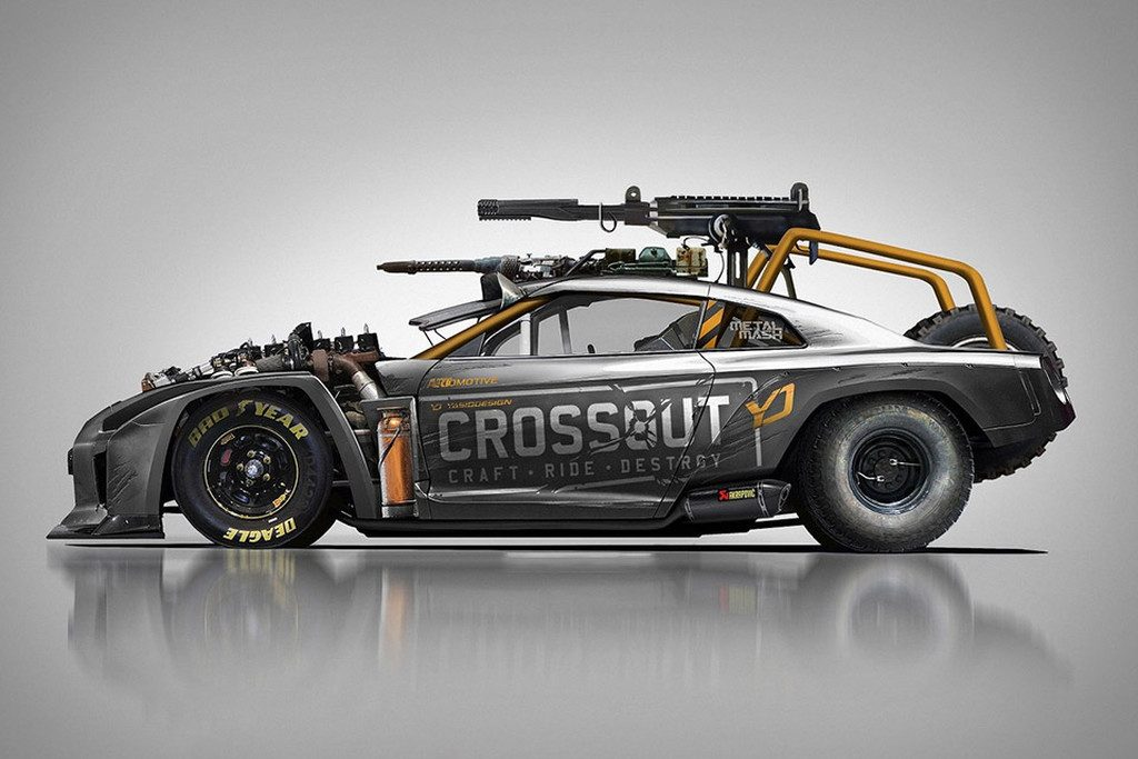 crossout gt r 1024x683 - Αυτό το Nissan θα το οδηγούσε ο Mad Max μετά χαράς
