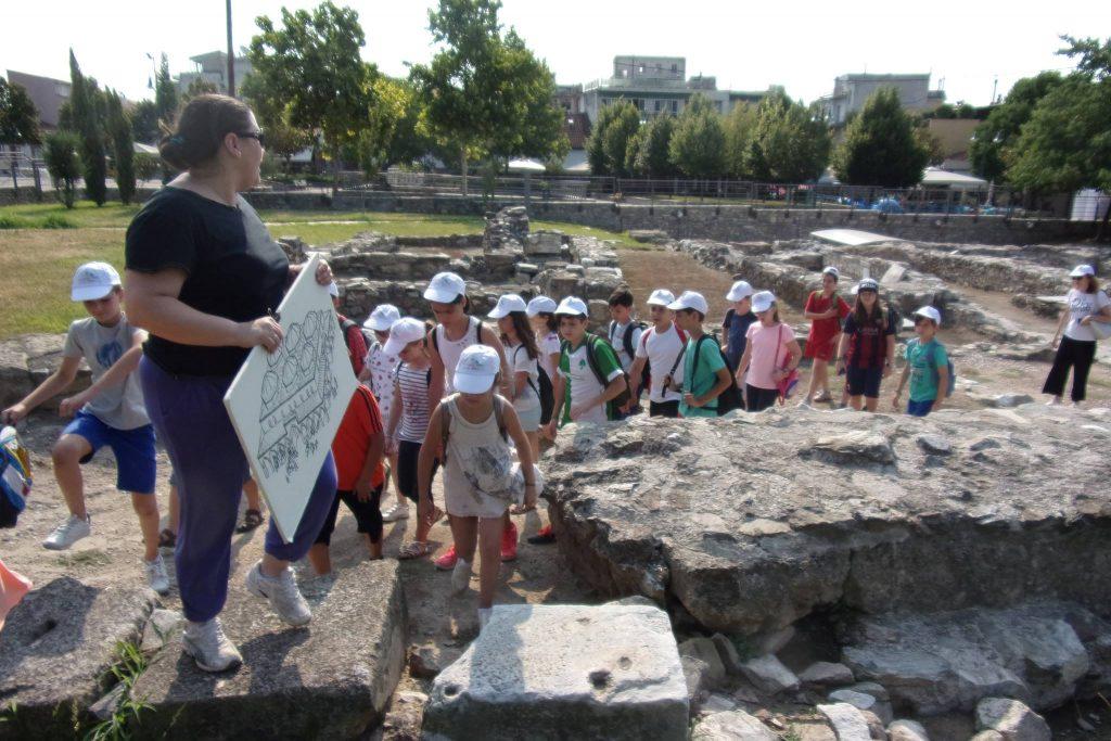 k2 1 1024x683 - Μικροί Κατασκηνωτές σε ρόλο… Αρχαιολόγων!