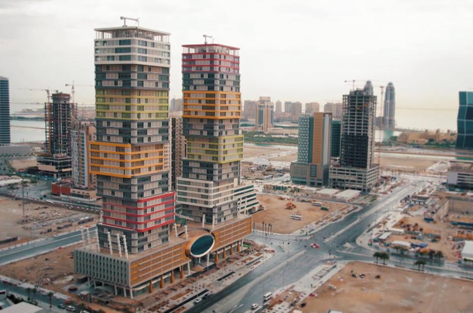 katar1 - Λαρισινό άρωμα σε αρχιτεκτονικά κοσμήματα στο Κατάρ, τα Τwin Towers!