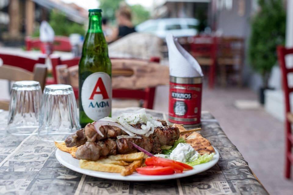 souvlaki kot - Ανεβαίνεις Φρούριο; Για φαγητό στου Κυρ Χρήστου!