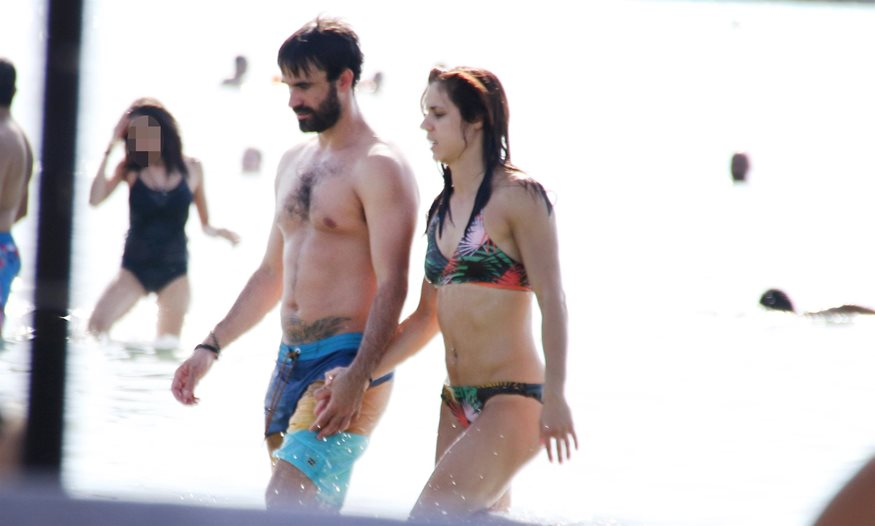 stefanidi - Paparazzi: Η Κατερίνα Στεφανίδη στην παραλία με τον σύντροφό της