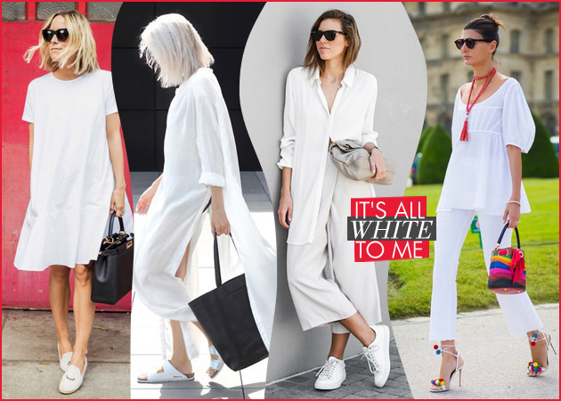 white1 645 450 - Νέοι τρόποι να φορέσεις το λευκό φέτος το καλοκαίρι από την κορυφή μέχρι τα νύχια