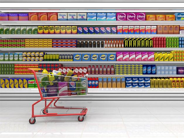 supermarket - Περιμένοντας στην ουρά του Super Market!