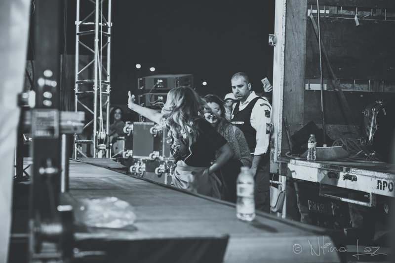 LAZ 7430 - Backstage από τη συναυλία της Νατάσας Μποφίλιου! (ΦΩΤΟΓΡΑΦΙΕΣ)