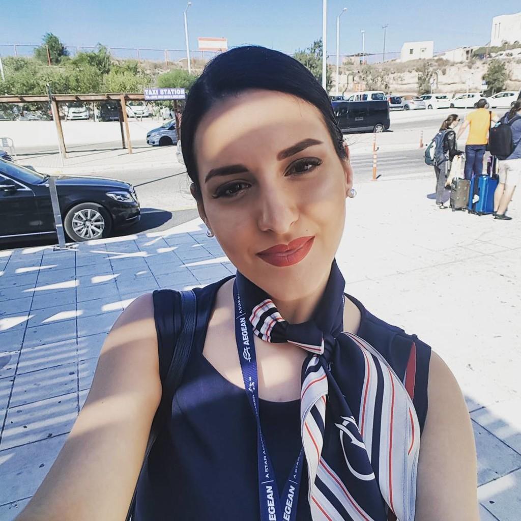VictoriaKotsia03 - Ελληνίδα αεροσυνοδός μας αναστατώνει στο Instagram