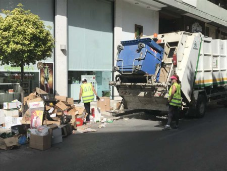 aporrimmatoforo2 - Με ανοιχτή σύγκρουση απειλεί ο δήμος Λαρισαίων το Σύλλογο Εργαζομένων για την απεργία στα σκουπίδια – Σκληρή ανακοίνωση
