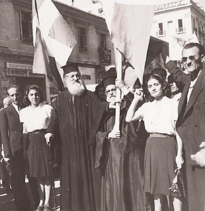540021 0beab8ae81 9c603b26c37abe11 - Το τέλος της γερμανικής κατοχής στην Αθήνα - 19 συγκλονιστικές ΦΩΤΟ