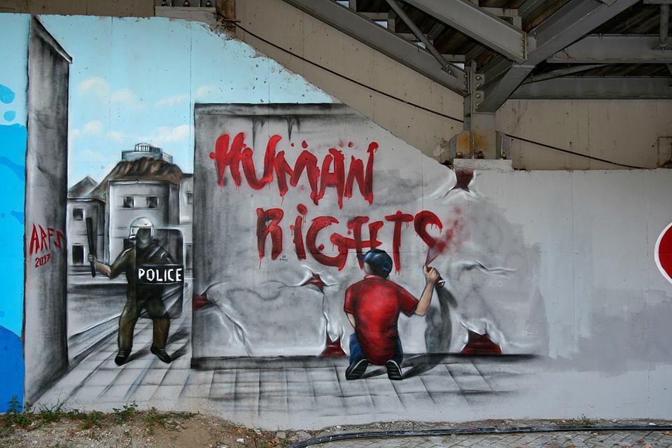 By ARFS - Aπολογισμός εκδήλωσης δημιουργίας γκράφιτι