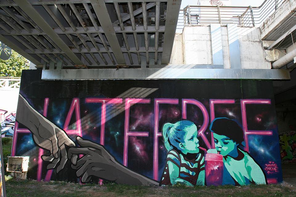 By Uniq and Nique - Aπολογισμός εκδήλωσης δημιουργίας γκράφιτι