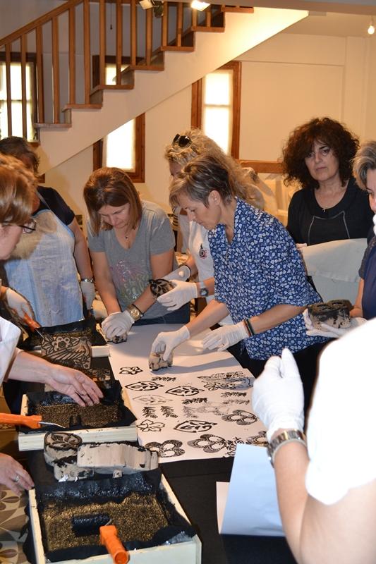 DSC 0068 - Σεμινάριο Τυποβαφικής στο Λαογραφικό Μουσείο Λάρισας