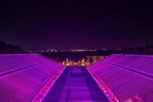 stadio1 300x200 - Το Παναθηναϊκό Στάδιο έγινε ροζ