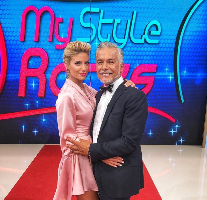 xristopoulos - Χάρης Χριστόπουλος: Αυτή είναι η πανέμορφη σύντροφος του κριτή του My Style Rocks!