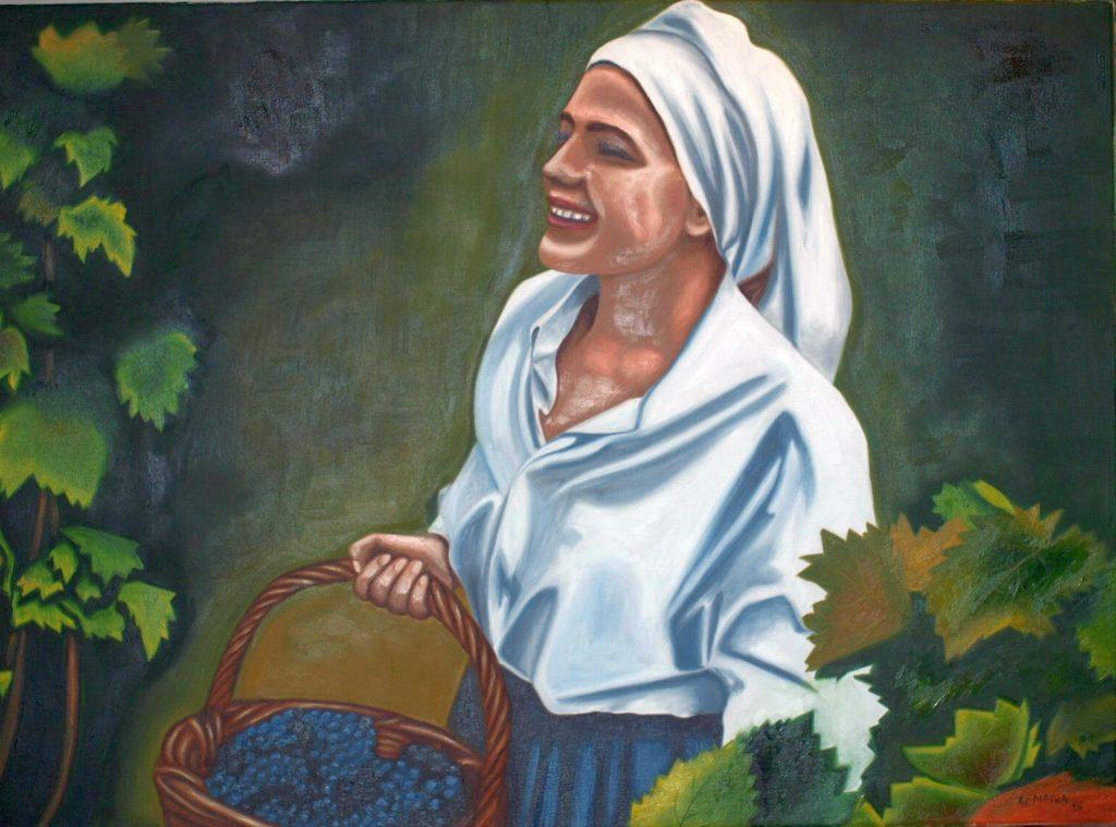 P7231229 1024x759 - Έκθεση ζωγραφικής «Τέχνης Υφάνσεις» στο Μύλο του Παππά