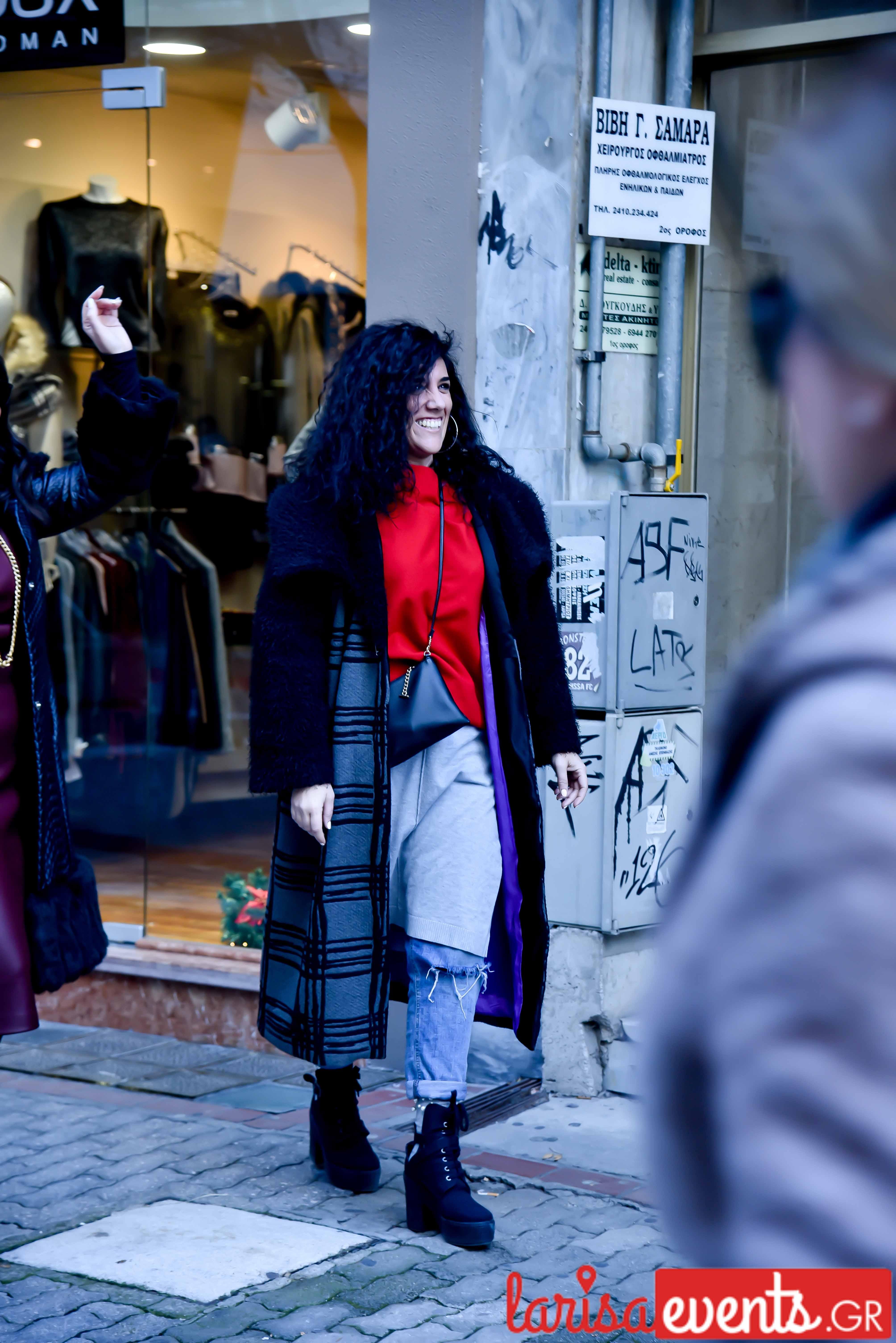 LAZ 7340 - Λάρισα's Street Style | Οι γυναίκες της πόλης σε street style clicks!
