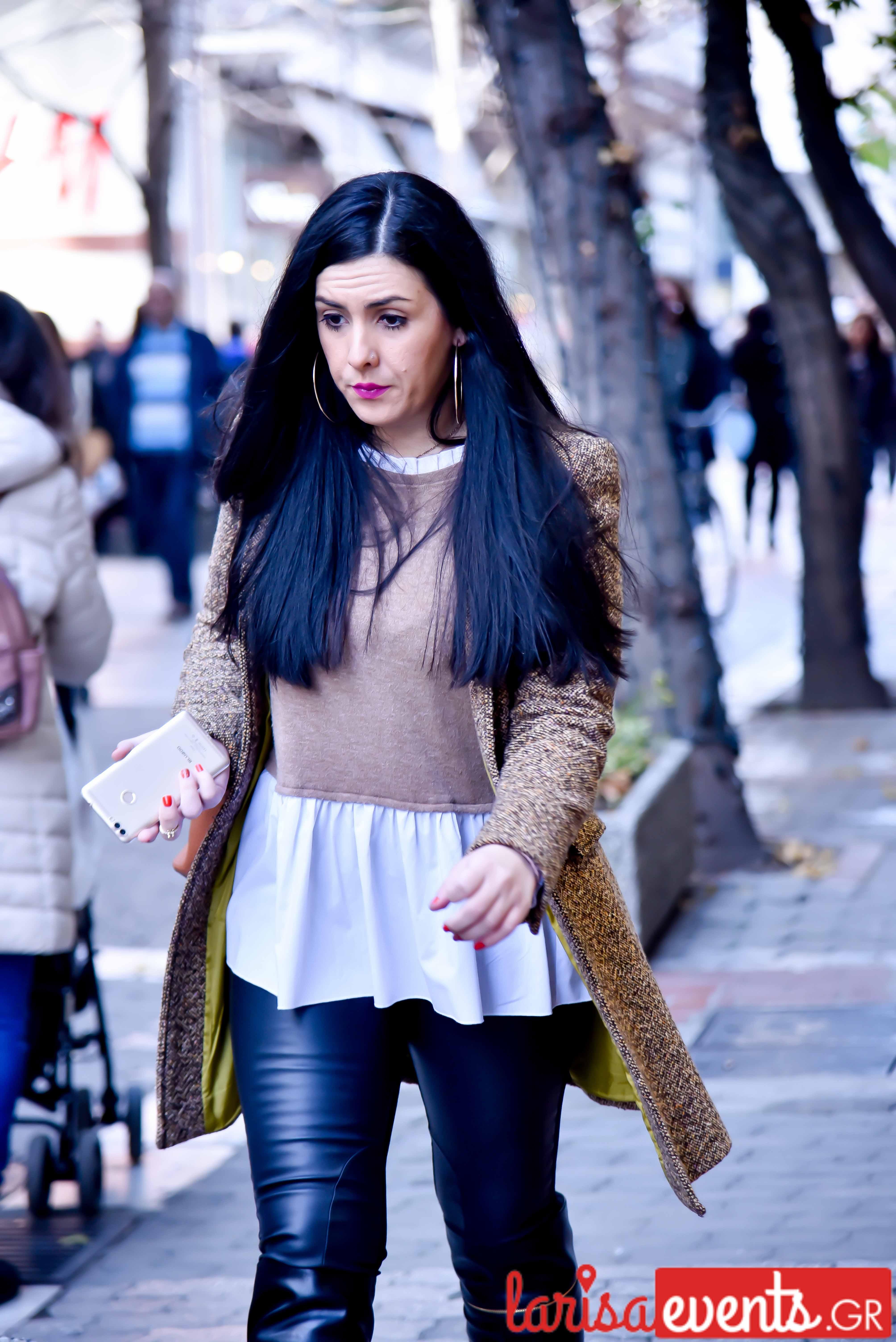 LAZ 7411 - Λάρισα's Street Style | Οι γυναίκες της πόλης σε street style clicks!