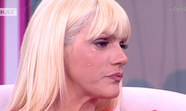 sasafoto - Τα δάκρυα της Σάσας Σταμάτη on air – Τι της συνέβη;