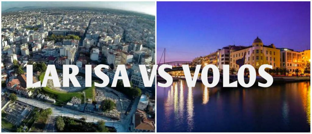 collage 1024x440 - Λάρισα vs Βόλος: Μια κόντρα 60 χιλιομέτρων!