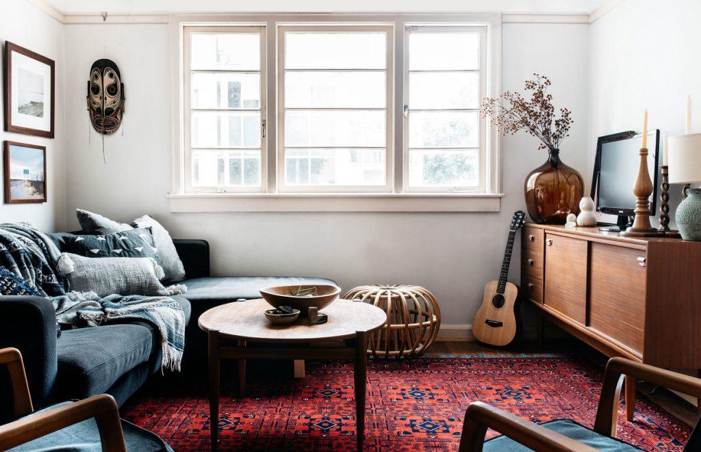 décoration style vintage tapis kilim meuble scandinave FrencyFancy 3 1024x661 - Συμβουλές για να δώσετε μία vintage πινελιά στο σπίτι σας