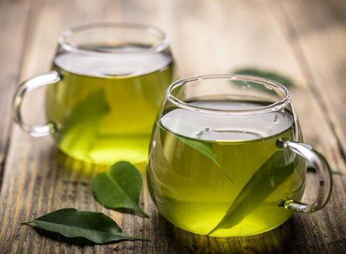 green tea brewed 500x366 - Οι τροφές που θα σε κρατήσουν για πάντα νέο