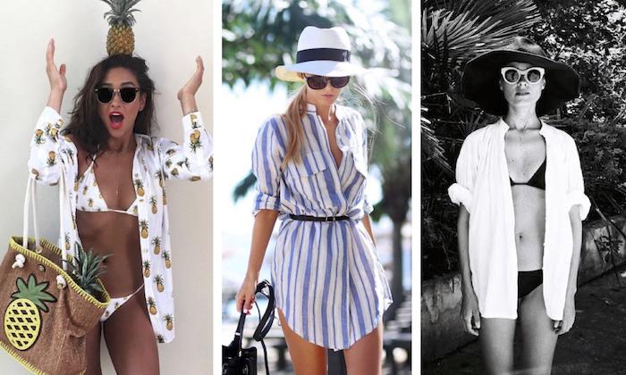 style beach dressing shirt cover up - Τα μεγαλύτερα στυλιστικά λάθη που κάνεις στην παραλία