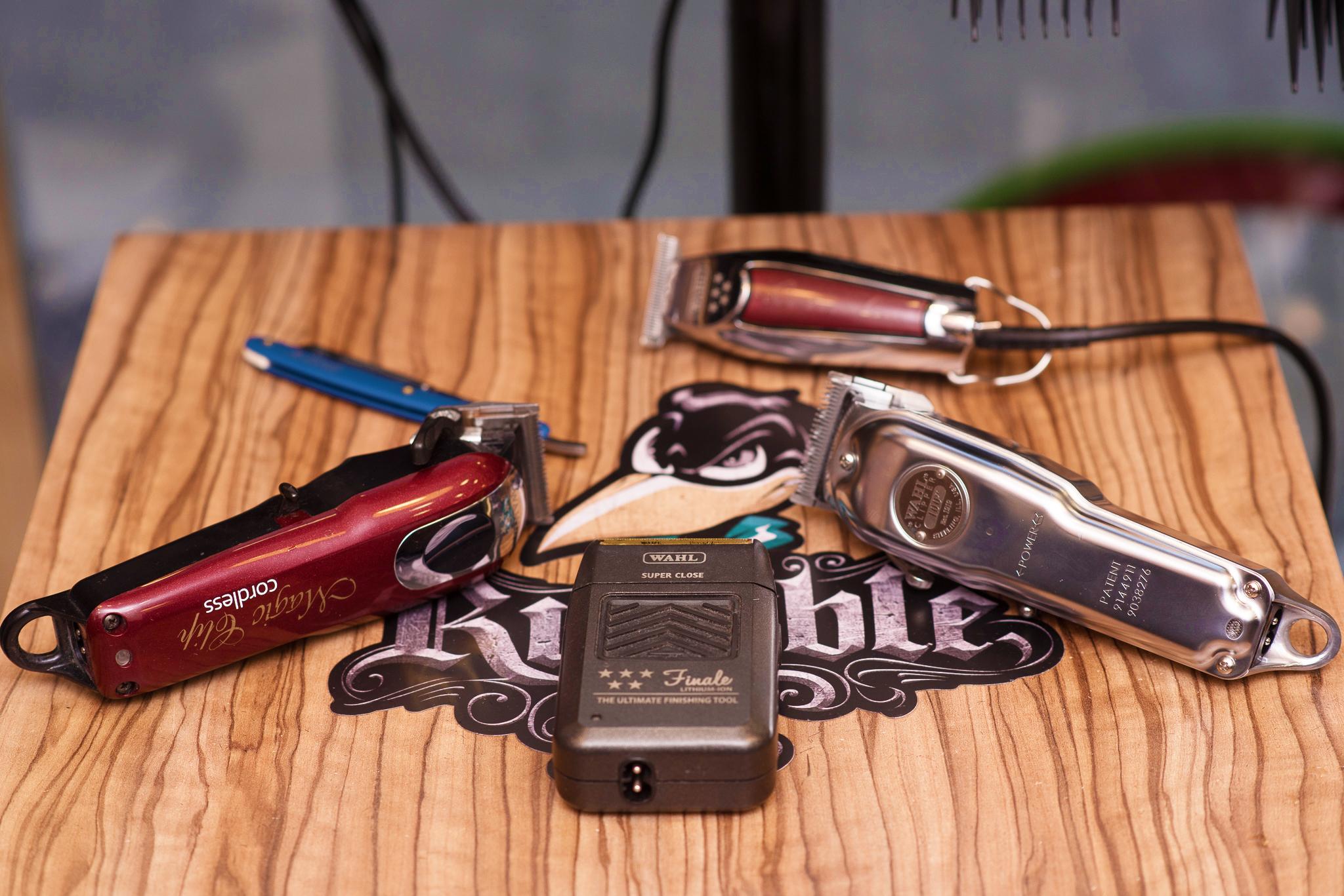 Barber Tools Touch Hair Salloon kommotiria larisa