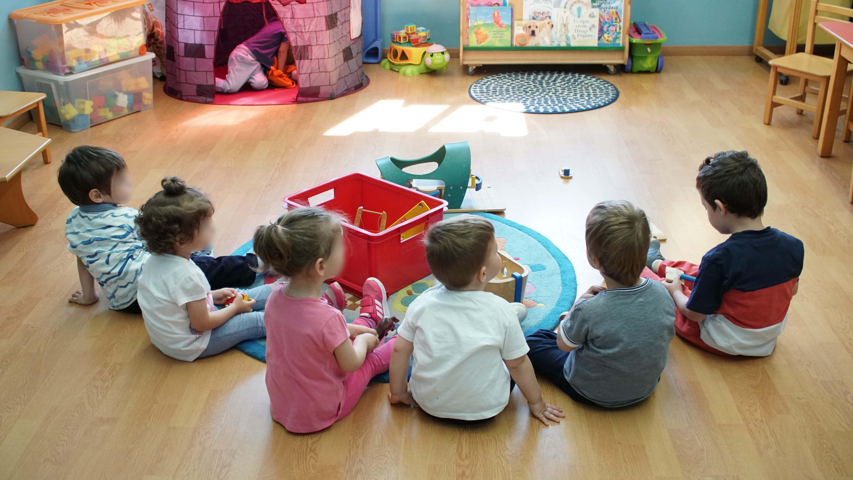 Παιδιά στο Νηπιαγωγείο Παιδικός Σταθμός «Αρχοντία Καθάριου»