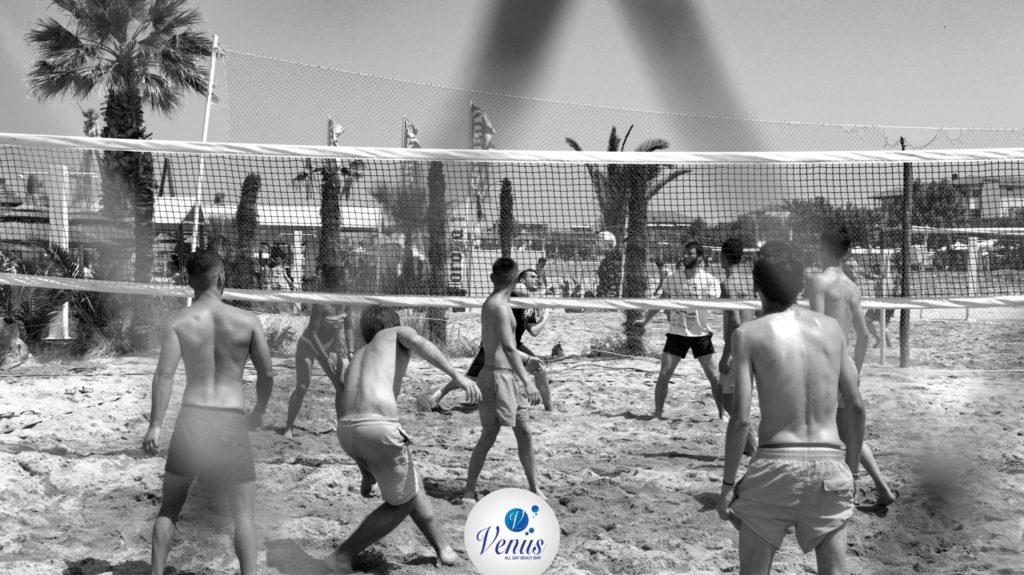 volley beach bar venus neoi poroi